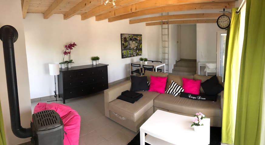 Luxe huis met zwembad nabij spa en Balatonmeer