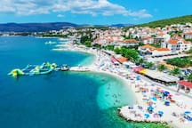 ISLAND OF CIOVO - OKRUG GORNJI -AMAZING BEACHES PERFECT FOR FAMILIES