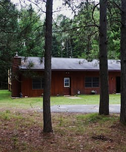 Quiet forest cabin for hunters, couples, families - Manton
