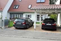 gepflegtes Haus mit Garten nahe München