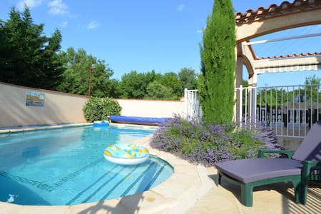 Villa with private pool close to beaches and Spain - Saint-Génis-des-Fontaines