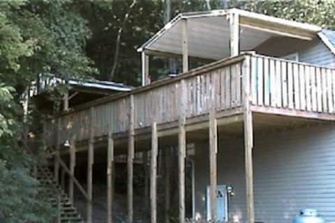 """""""The Loft """" at The Cut In the hills chalets."""
