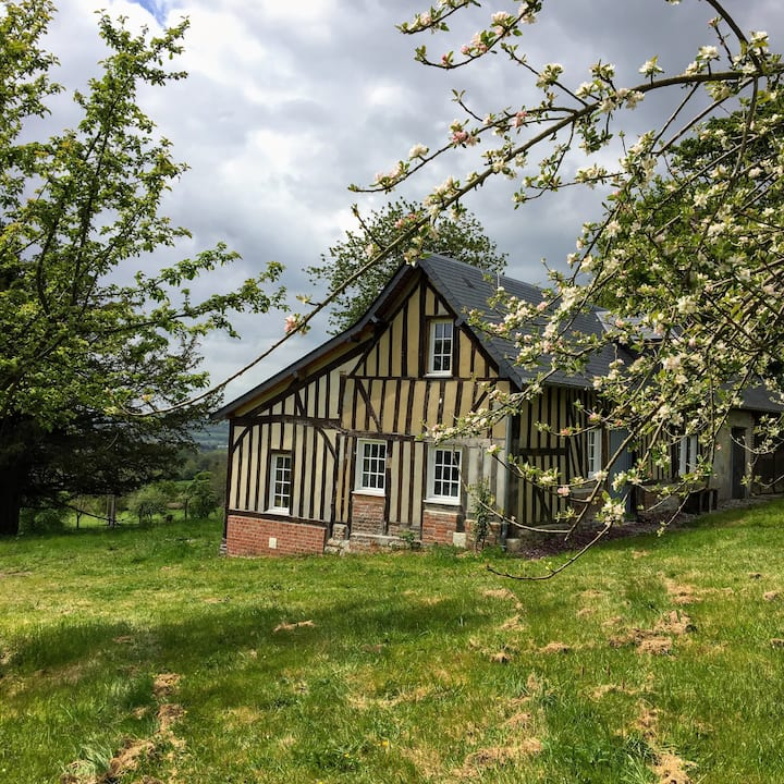 Jolie maison 2/3 pers -5mn Lisieux- 20mn Deauville