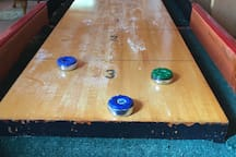 Recreation barn -22 foot shuffle board