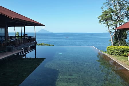 Villa on the beach, Manado, Bunaken