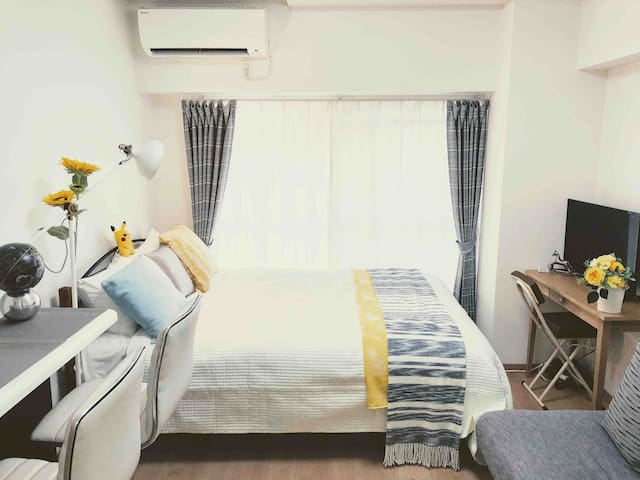 """Center Nagoya""""Cool"""" Easy access to airport 栄2駅+歩4分"""
