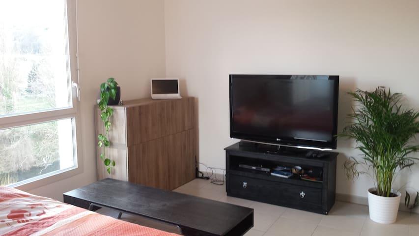 Studio dans belle copropriété - Givors - Appartement