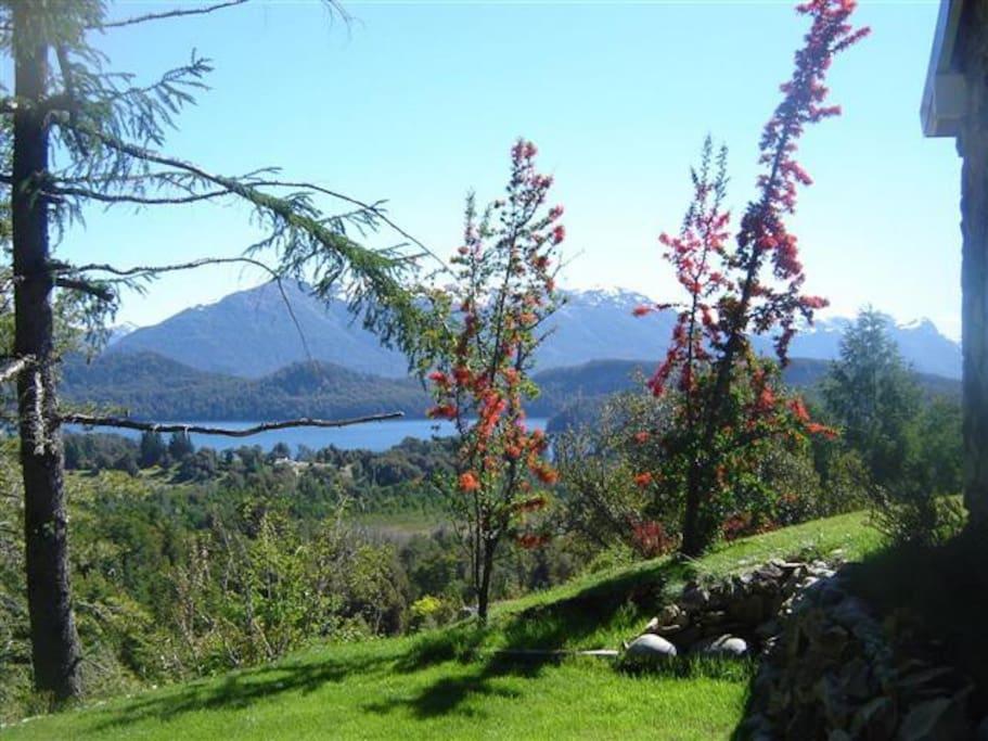 Vista desde el jardín/from the garden