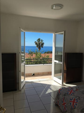 sea view from bedroom