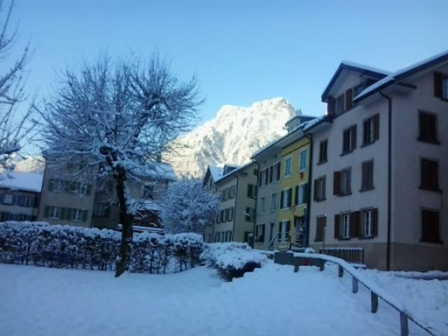 comfortable apartment - Schwanden - Schwanden - Apartament
