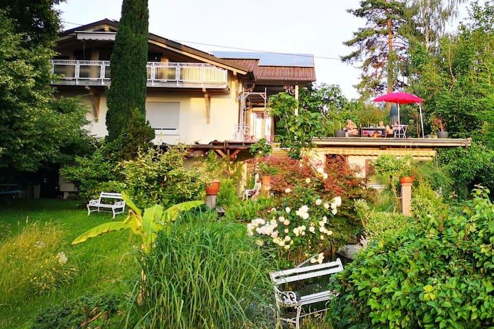 Casa Luna - mit Blick auf die Vogesen und ins Tal
