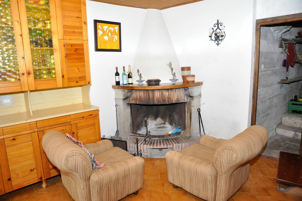relax @ fire place!