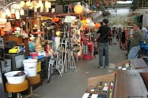 Treptower Market, is one of the oldest flee market of Berlin, famous for antique and vintage shopping