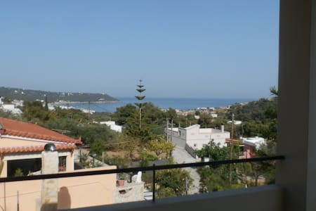 Agia Marina family maisonette with a view