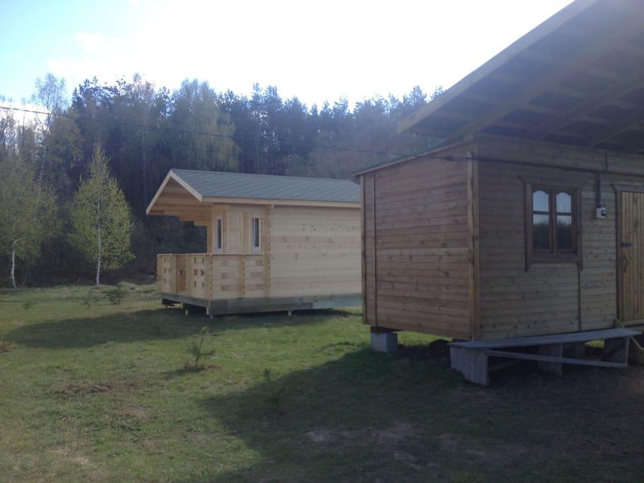 Возможна аренда одновременно целого лагеря