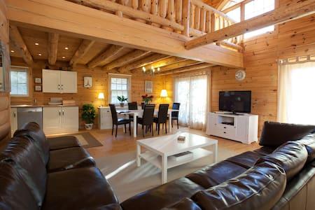 Maison Bois de Prestige - Pleine-Fougères - Alpehytte