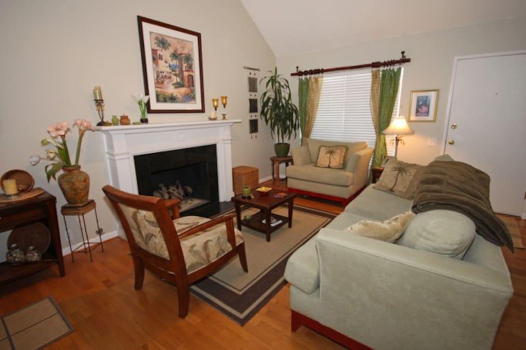 Island Style Living Room