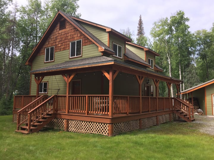 Spacious convenient home in Talkeetna