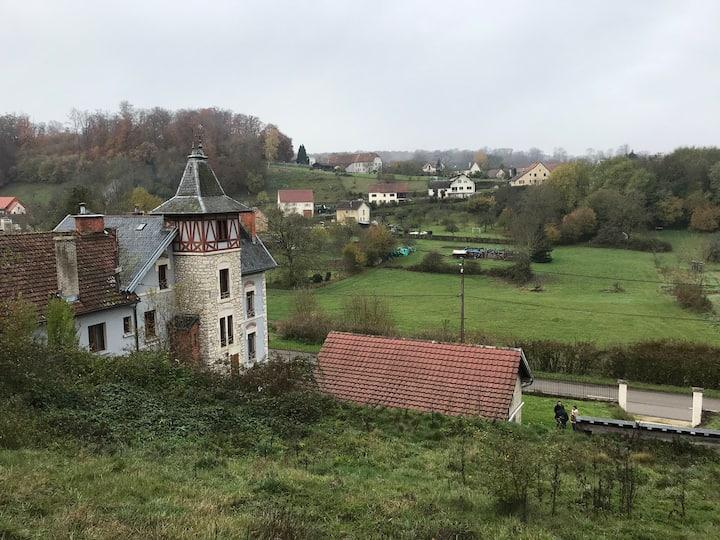 L'aile droite du château