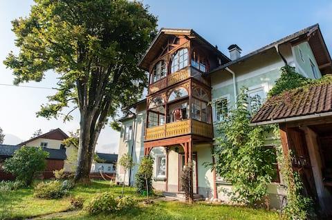 Ferienwohnung mit Garten + Salzkammergut Card