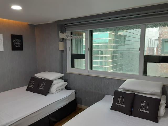 K-Grand Hostel Gangnam 1 - Superior Twin