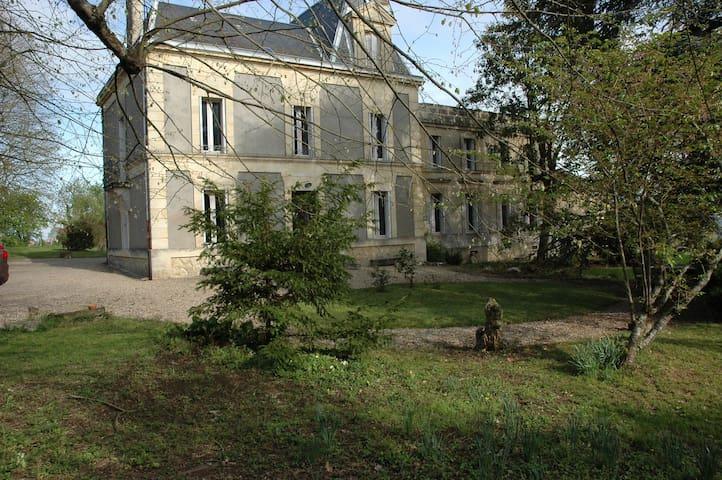 Maison de famille près St Emilion - Pujols - Casa