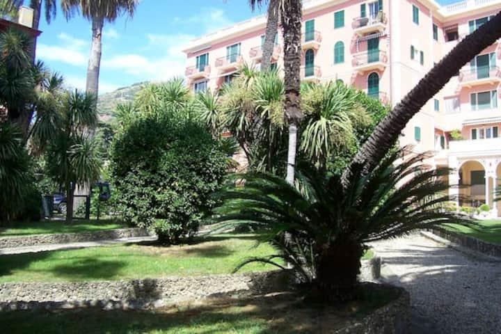 Parco, passeggiata di Nervi,residens Vittoria