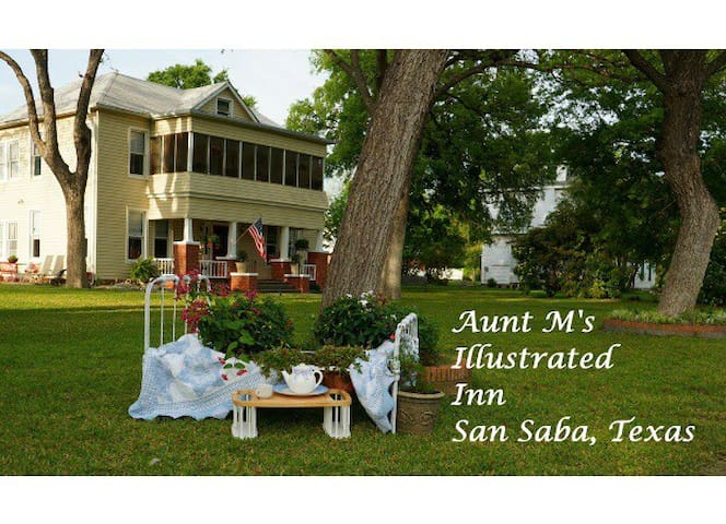 Aunt M's  Charming ,100 Year Old ,Illustrated Inn