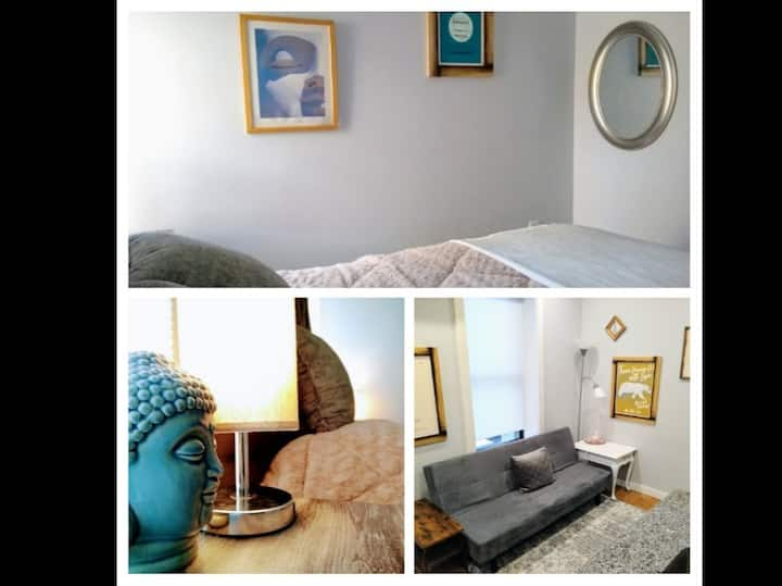 Buddha in the Bedroom: Comfy & Calming OTR 1-BDRM