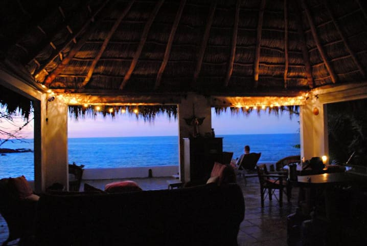 Oceanfront,Eco,Beach,Romantic, -  Puerto Vallarta - Casa