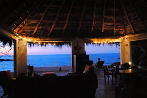 Oceanfront Palapa/Casa, Romantic, Secluded Beach's