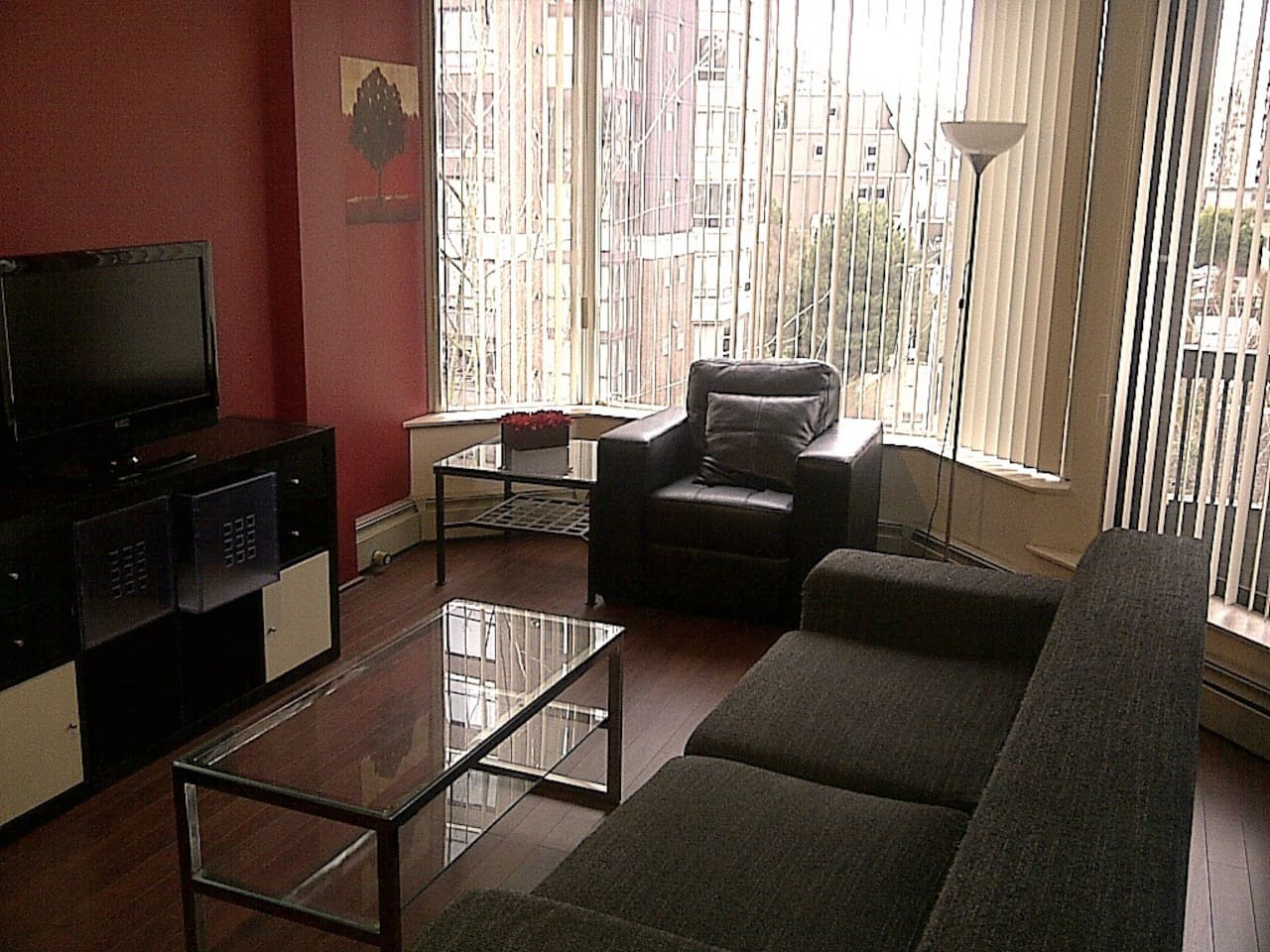 Living room and area.