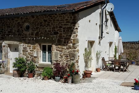 Lovely rural gite with pool & tranquility - Écuras - Casa
