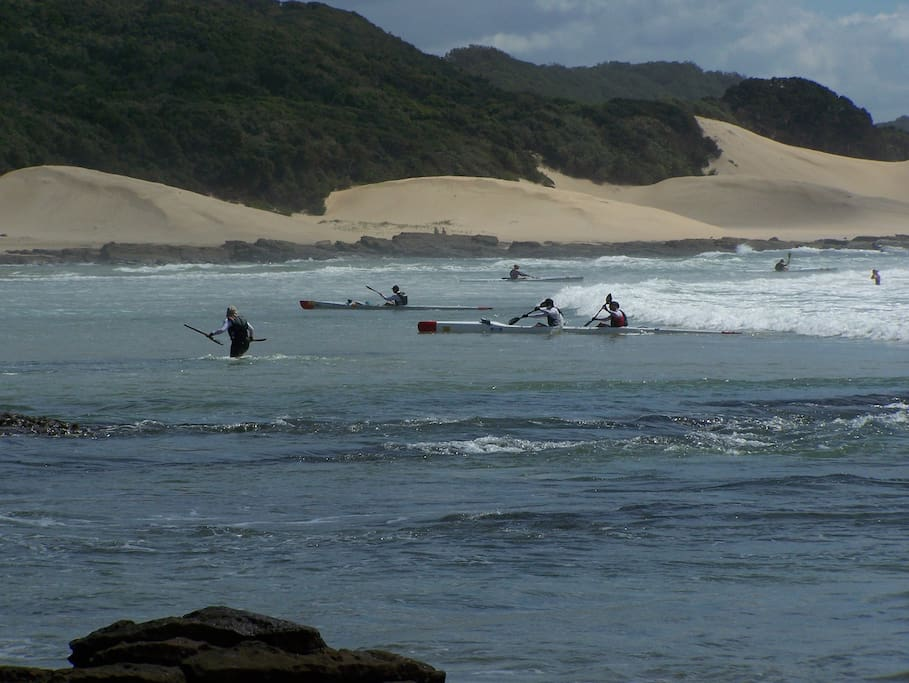 100 mile paddle race from Port Elizabeth to East London