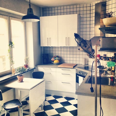 Cozy two room flat for 2-3 persons - Malmö - Wohnung