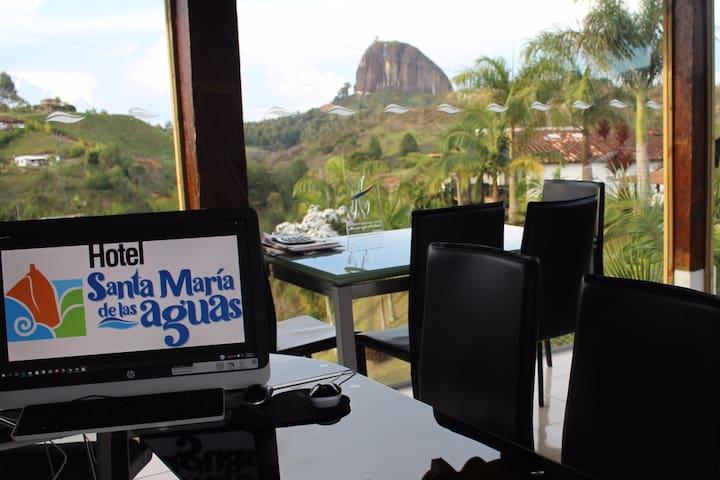 Hotel  Santa Maria de las Aguas-Multiple al Jardin