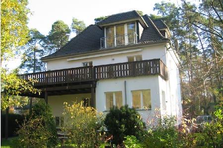 "Luxus-Apartment ""Fontane"" in Villa - Schönwalde-Glien - Casa de camp"