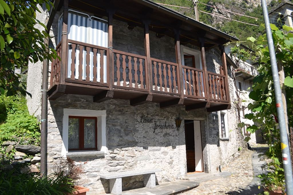 Casa Josephina mitten im alten Dorfkern