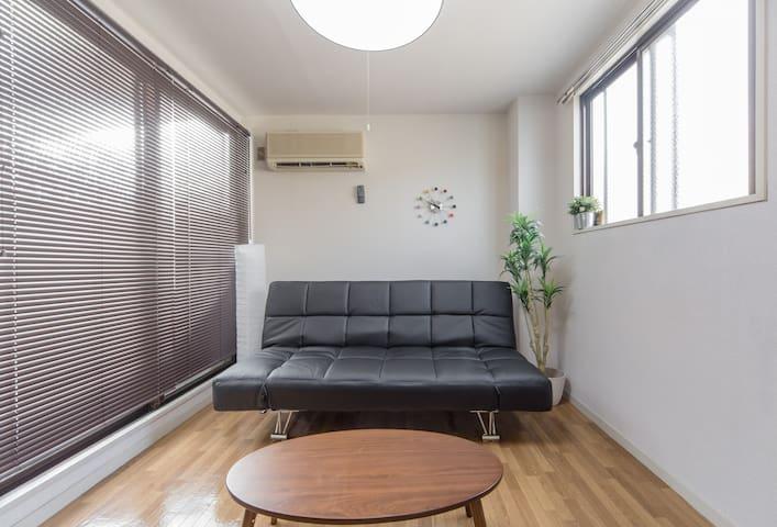 KYOTO STATION 6min! cozy room free wifi!k-d - Kyōto-shi - Apartment