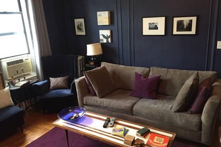 1 BR and a sleeper sofa