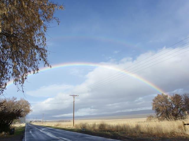 Spring & Fall - rainbow season!!!!