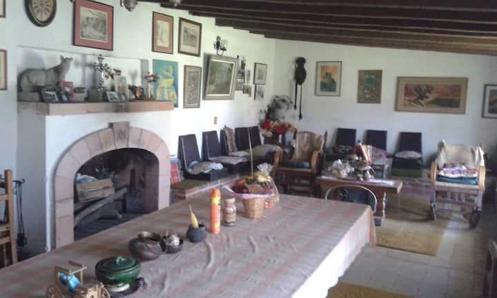 RANCHO NUEVO (Rancho rustico con cocina y baños)