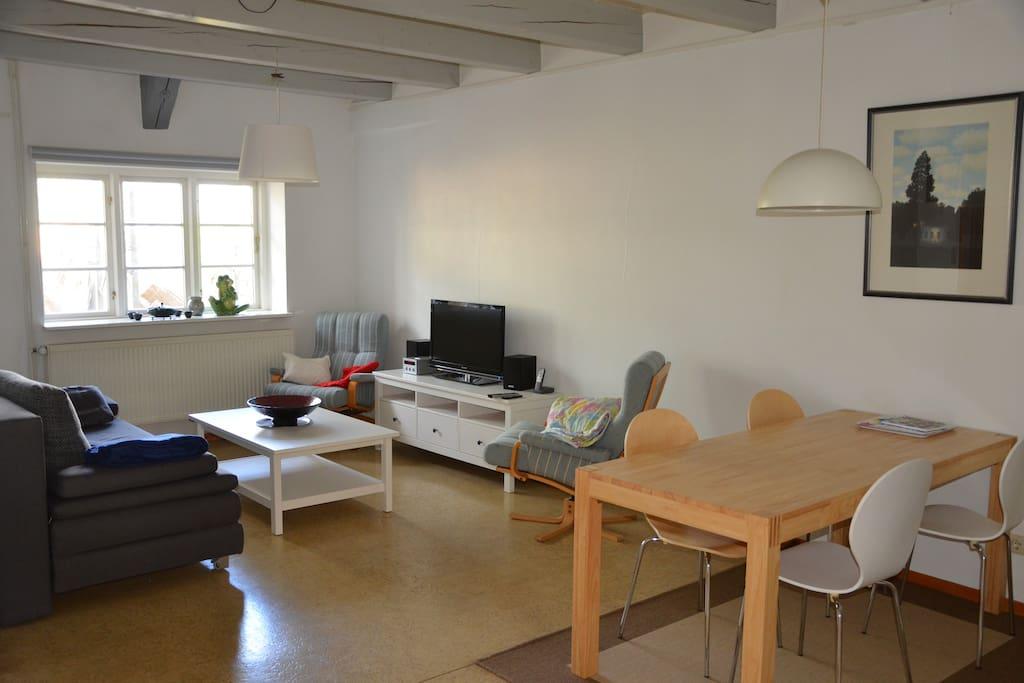Wohnzimmer & Essbereich