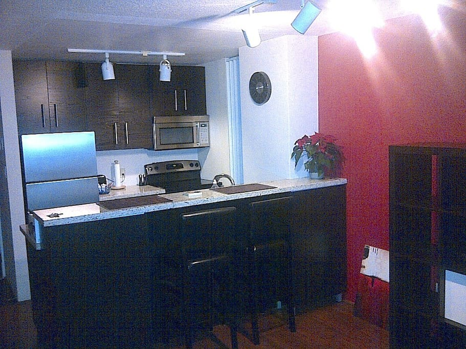The kitchen at night