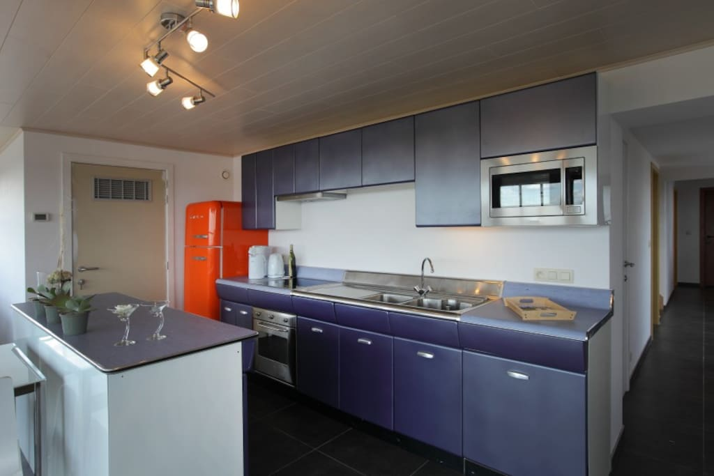 Fully equiped kitchen at