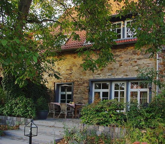 Historic Farm House close to SAP - Sankt Leon-Rot - Rumah