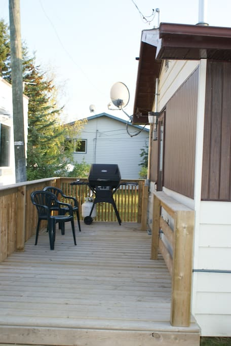 Deck and BBQ