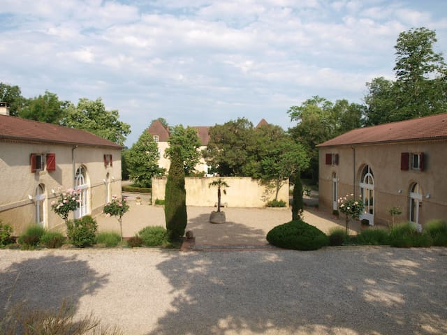 Converted Stables of Château de Beaulieu 8-9people - Miramont-d'Astarac - Casa