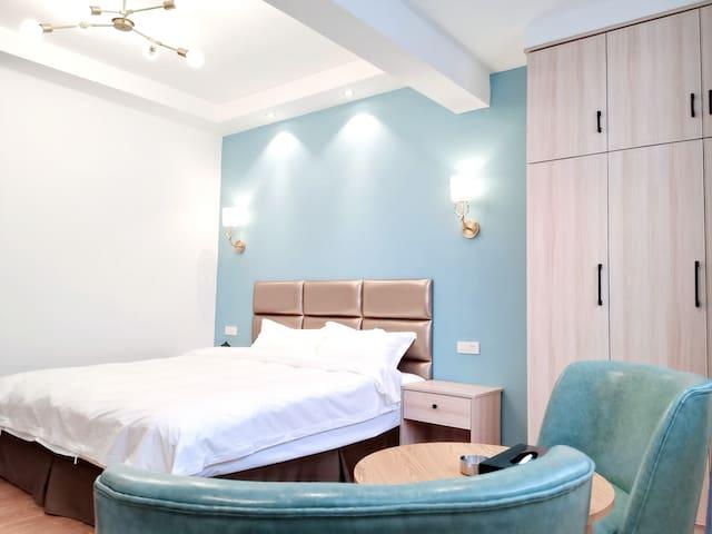 (02)以梦为马,不负韶华!北欧轻奢风格精装的红马公寓竭诚欢迎您的光临!