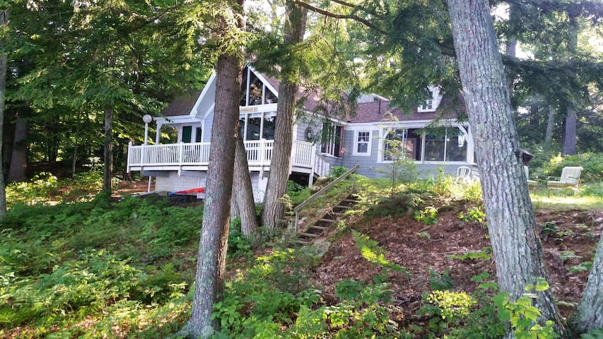 Sagatabscot Lakefront Cottage